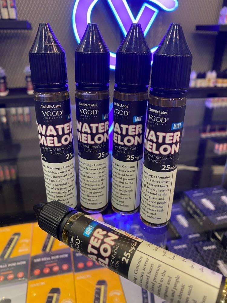 نكهة فيقود بطيخ نعناع سولت - VGOD WATERMELON MINT SaltNic