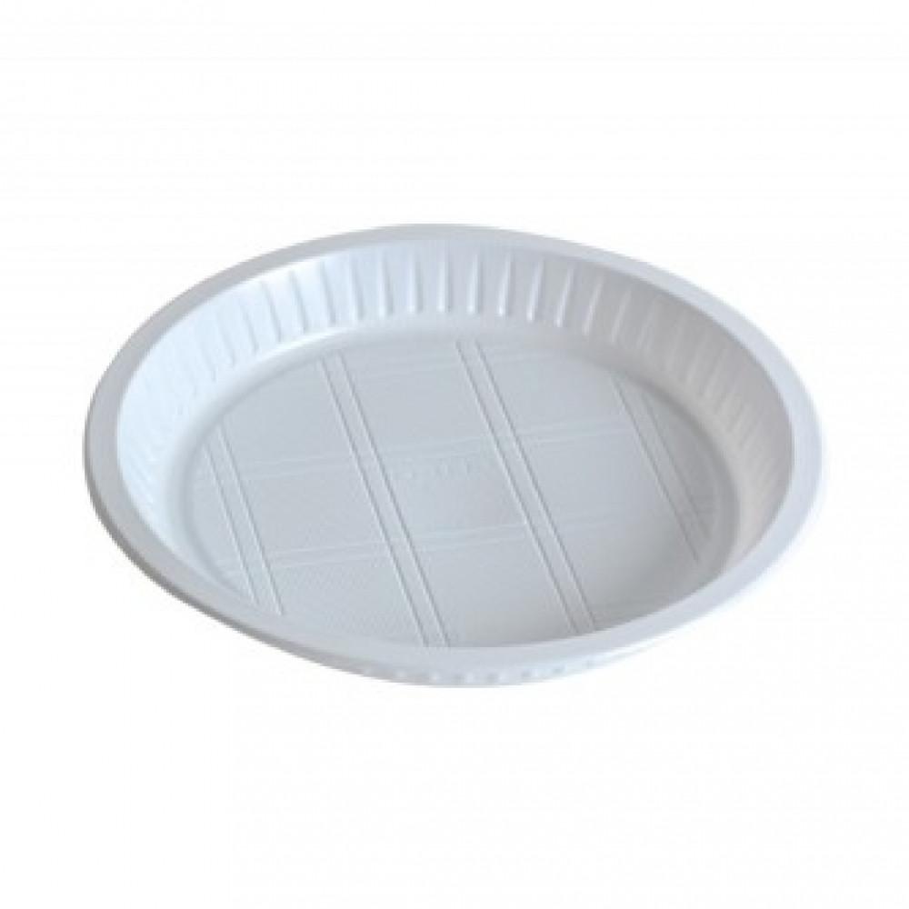 صحن بلاستيك دائري
