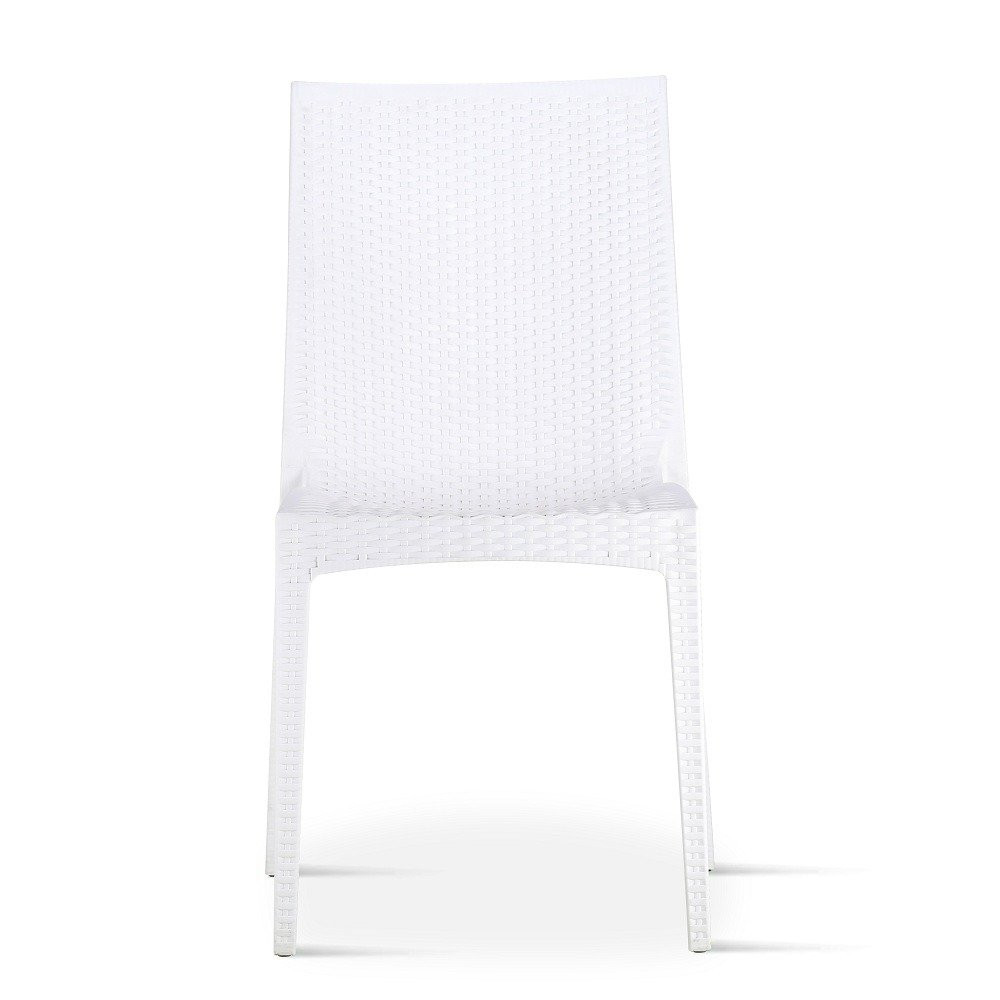 ما أجمل الجلوس على كرسي أبيض جميل طقم كراسي أبيض ماركة نيت هوم مواسم