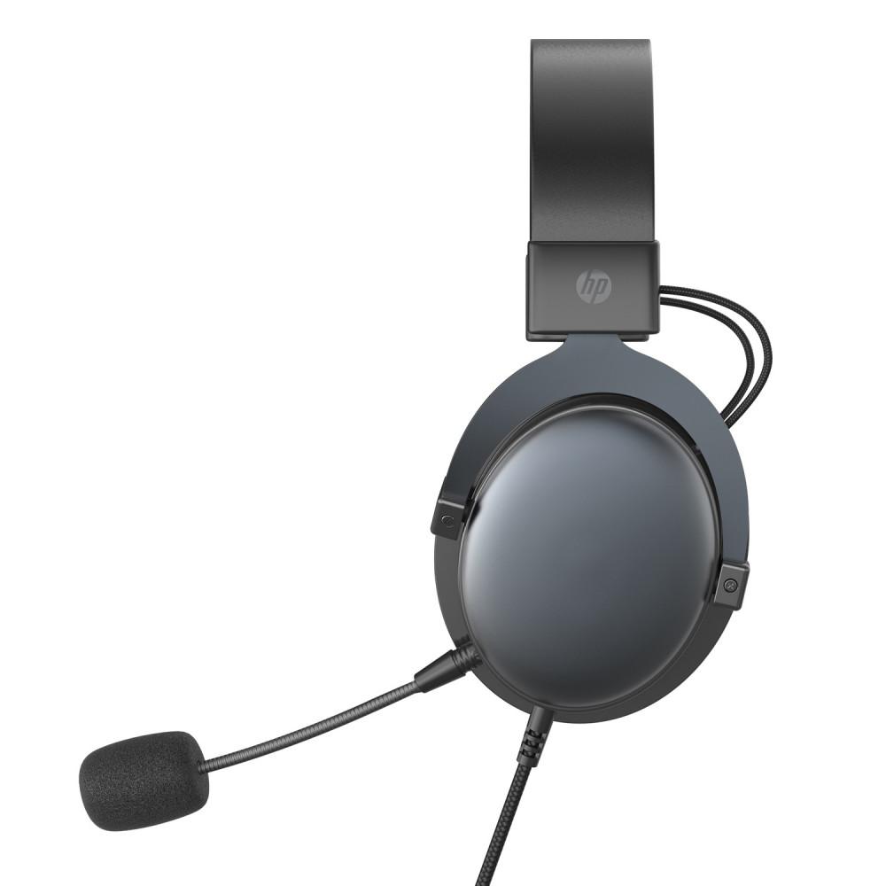 سماعة DHE-8005 HP ستيريو للرأس مع ميكروفون لون اسود لألعاب الفيديو