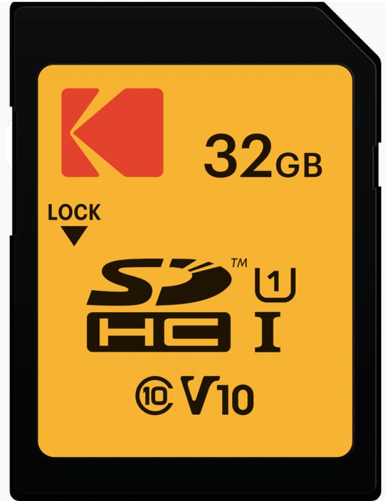 ذاكرة كوداك الاصلية مايكرو SD 32 جيجا