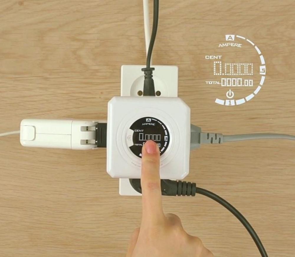 تحكم وراقب استهلاكك للطاقة باستخدامك ساعة الفيشة الجدارية المتنقلة