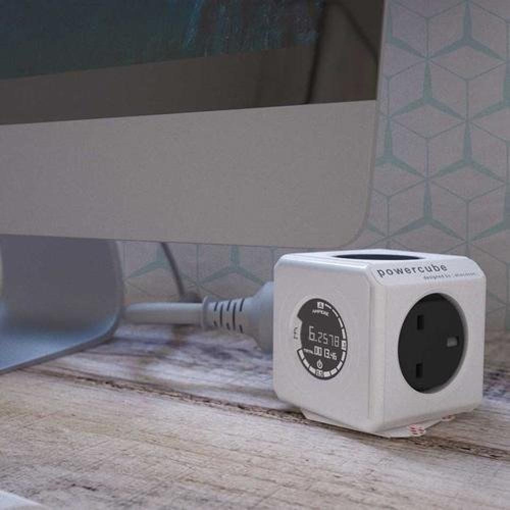 الفيشة الذكية متعددة الاستخدام كقابس كهرباء وساعة مراقبة استهلاك
