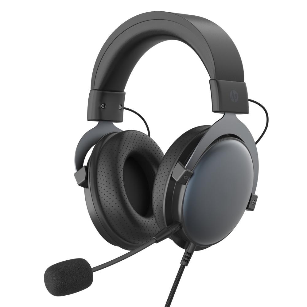 سماعة رأس إتش بي ستيريو لألعاب الفيديو DHE-8005 - أسود