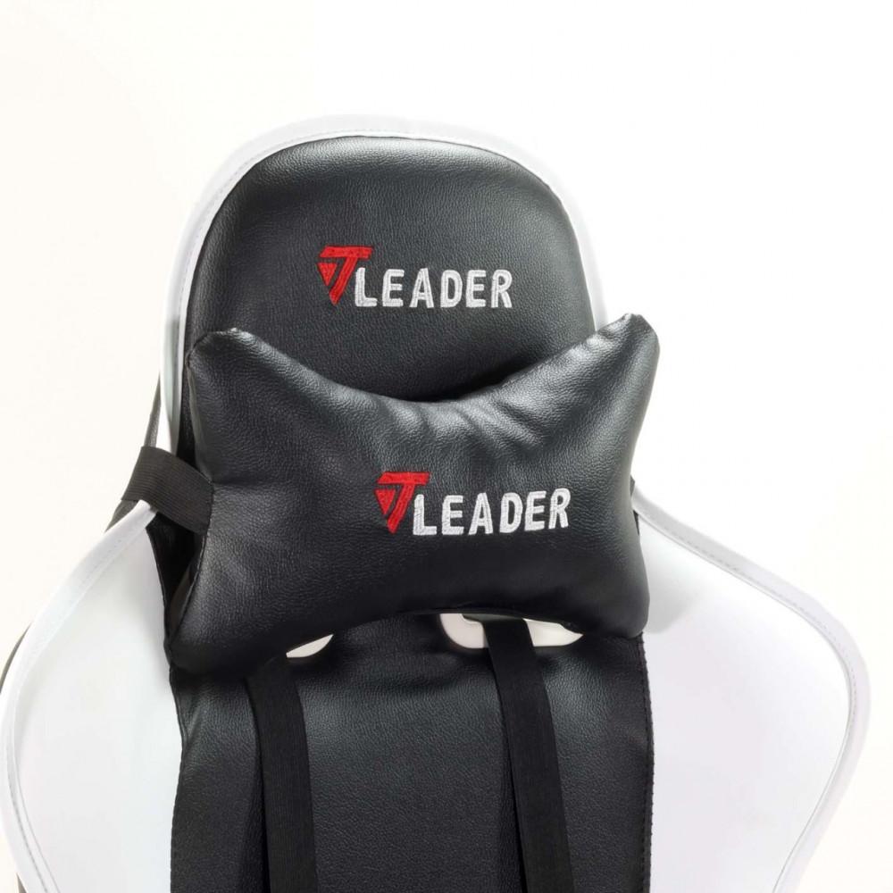 625-كرسي قيمنق تايجر من الجلد الأبيض X الأسود