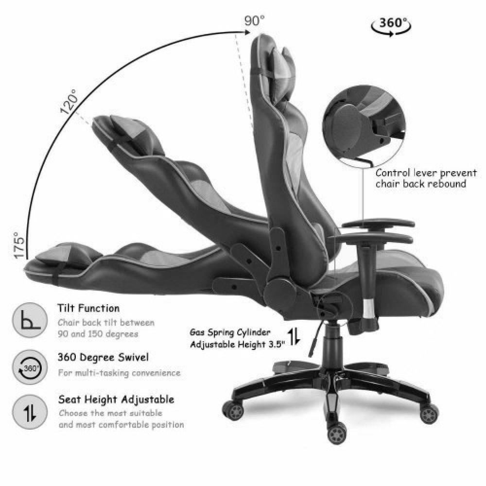 525-كرسي ألعاب قيمنق ليدر