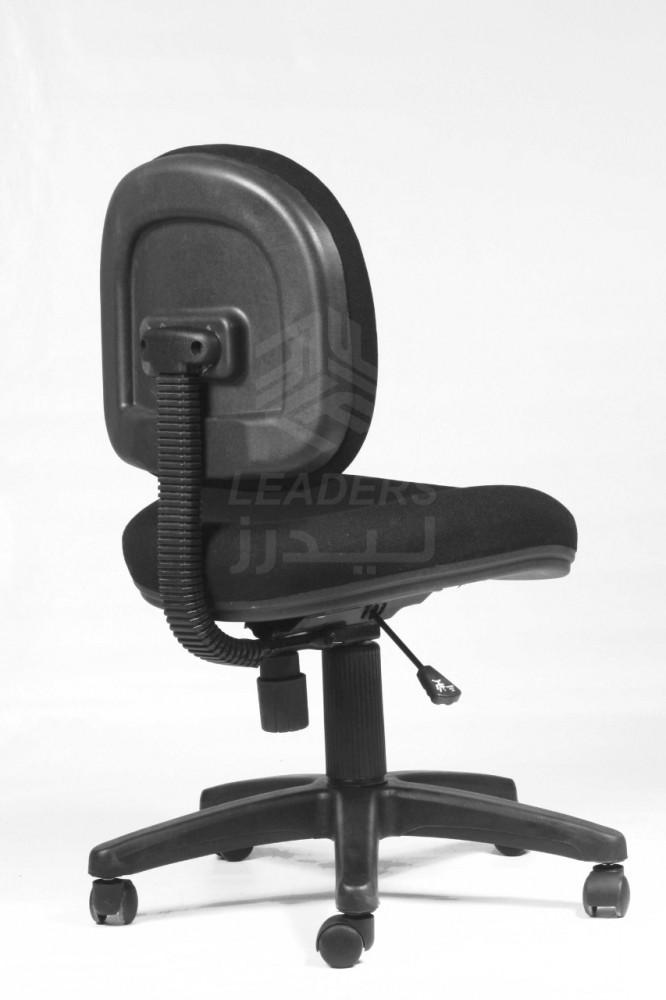 419-كرسي مكتب كمبيوتر  من القماش الأسود