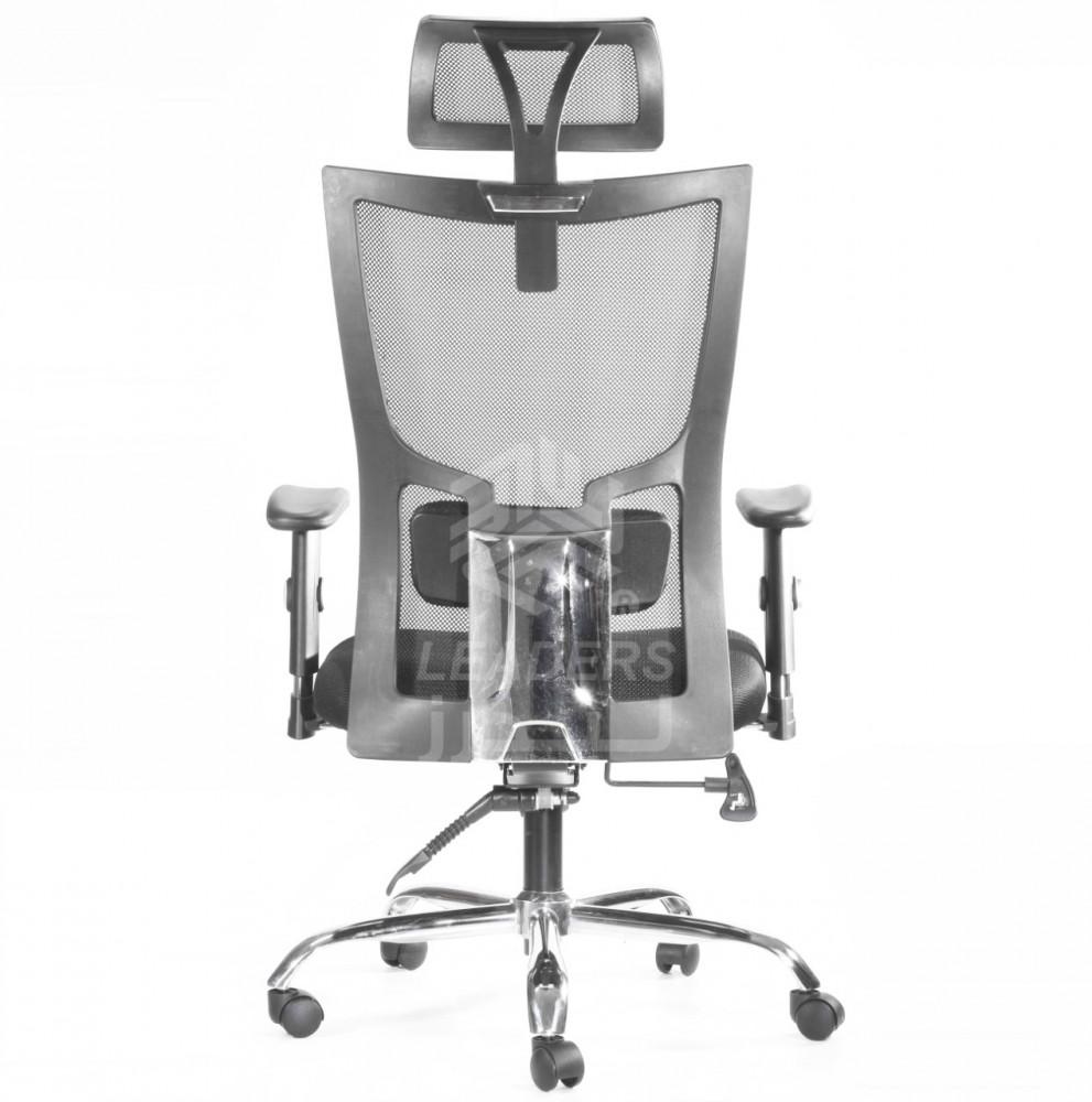 560-كرسي شبك متحرك دوار مع مسند للرأس موديل A111