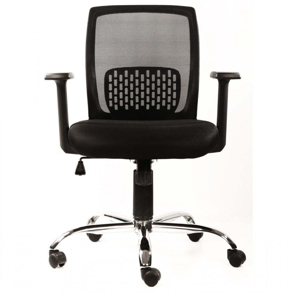 546- كرسي مكتب - أسود سبايرو من ليدرز