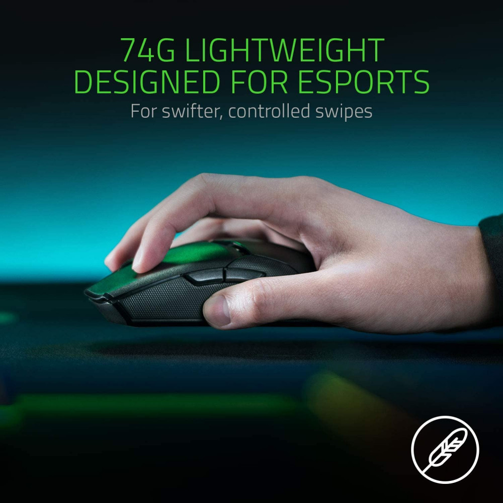Razer Viper Ultimate Hyperspeed Lightest Wireless Gaming Mouse