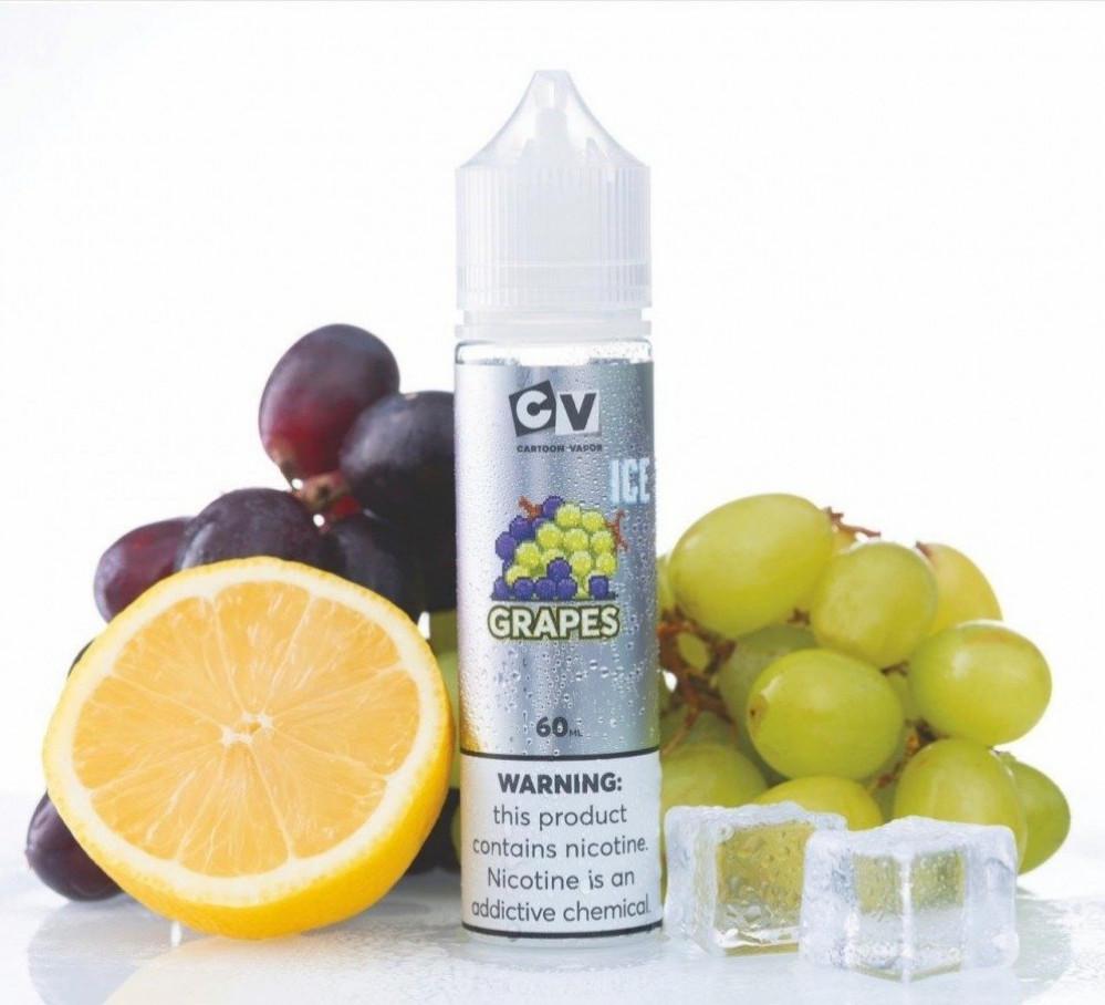 نكهة فيب العنب الأزرق مع قطع الثلج الباردة CV Mega Grape ICE