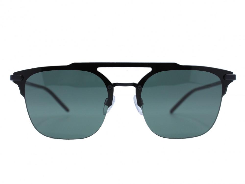 نظاره شمسية مربع من ماركة EMPORIO- ARMANI لون العدسة زيتي
