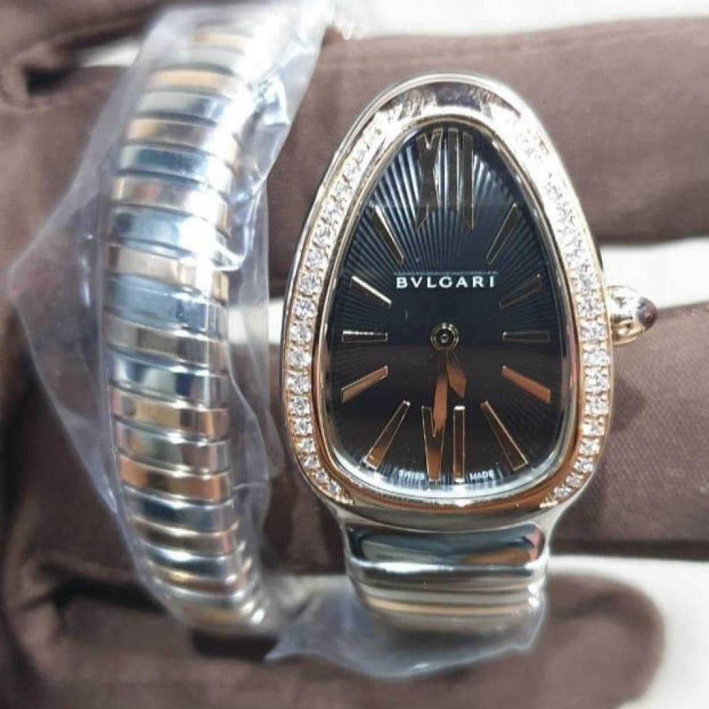 ساعة bvlgari سيربنتي أصلية فاخرة جديدة