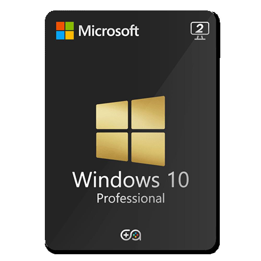 ويندوز 10 برو - جهازين