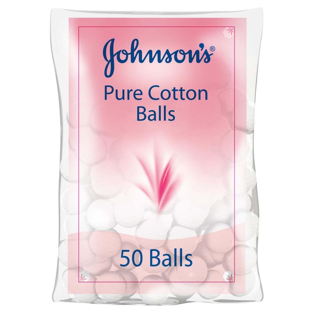 50 كرة من القطن جونسن اند جونسن