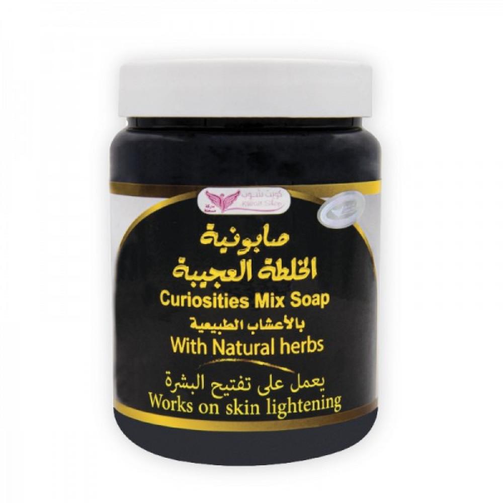 صابونية الخلطة العجيبة لتبييض البشرة من كويت شوب - 500 جرام