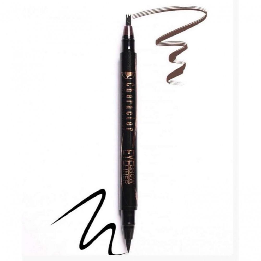 قلم حواجب و ايلاينر من كاركتر ENE002