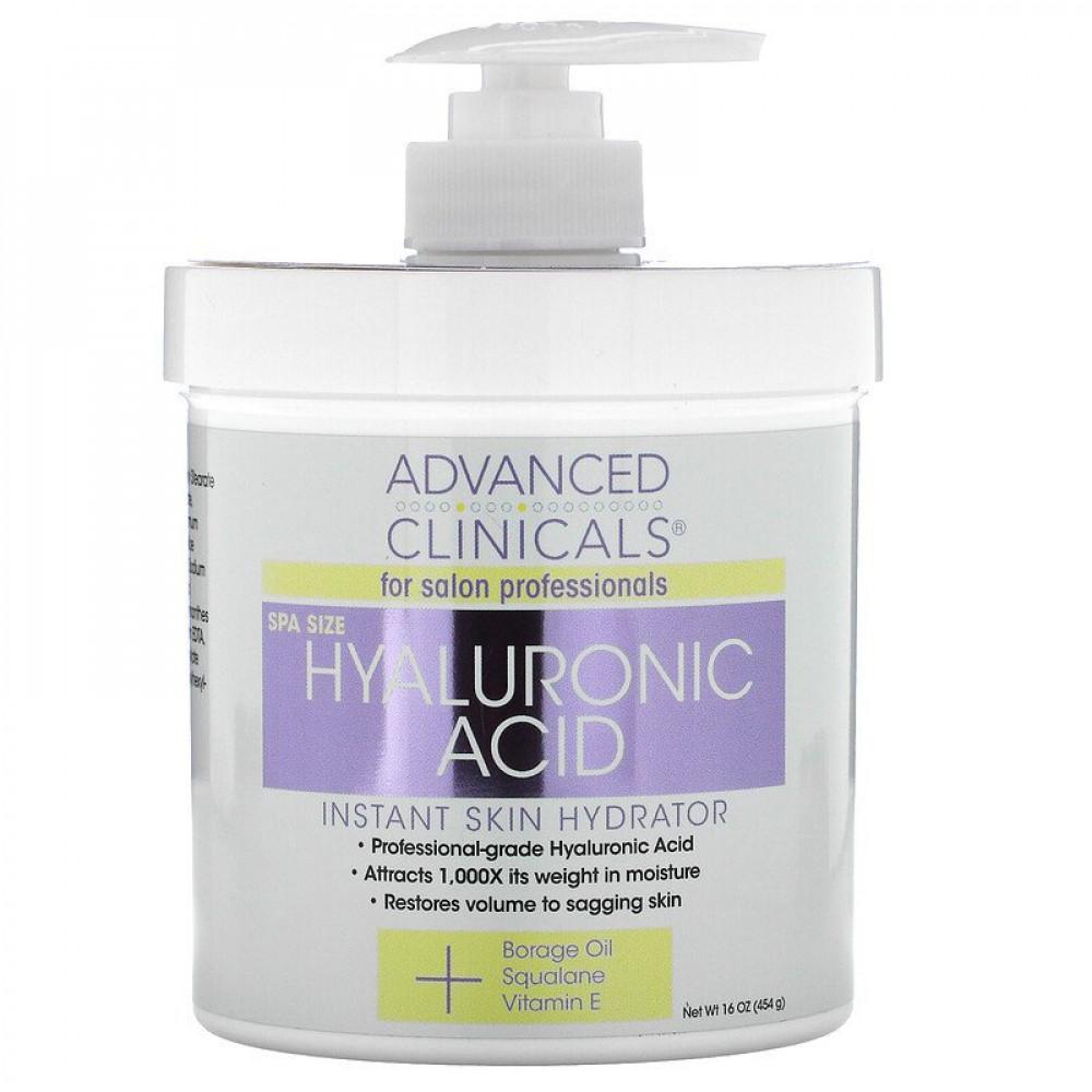 مرطب للجسم بالهالورنيك  Advanced Clinicals