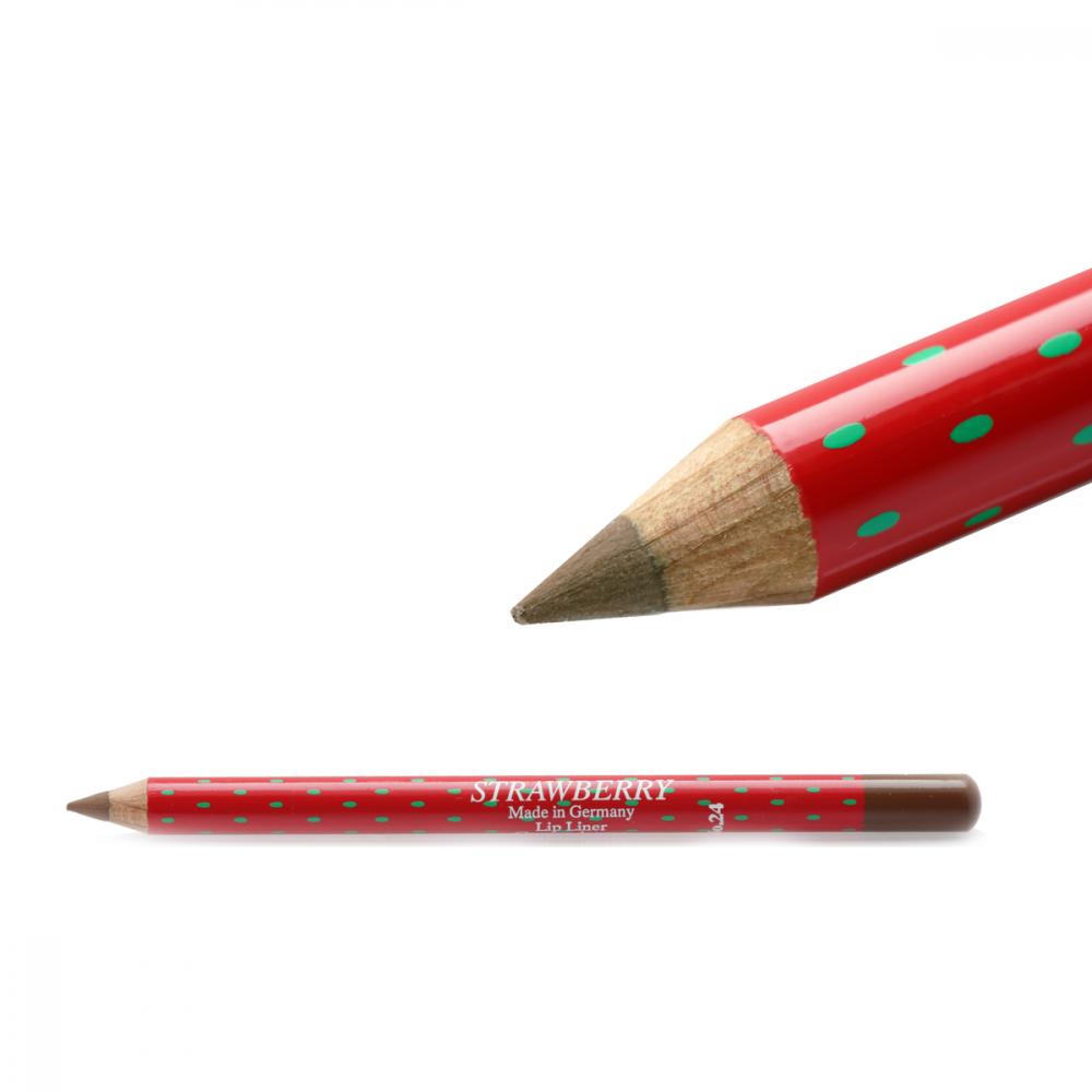 Strawberry  Lip Liner Pencil No-24