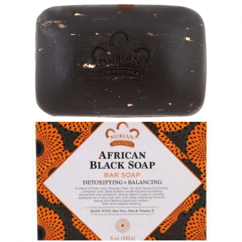 الصابون الأفريقي من نيوبيان Nubian African black soap