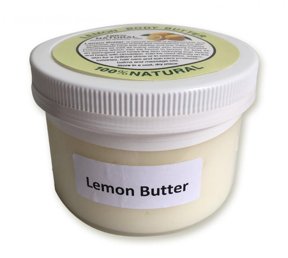 زبدة الليمون بوزن 450 جرام خام طبيعية بدون إضافات منتج أمريكي