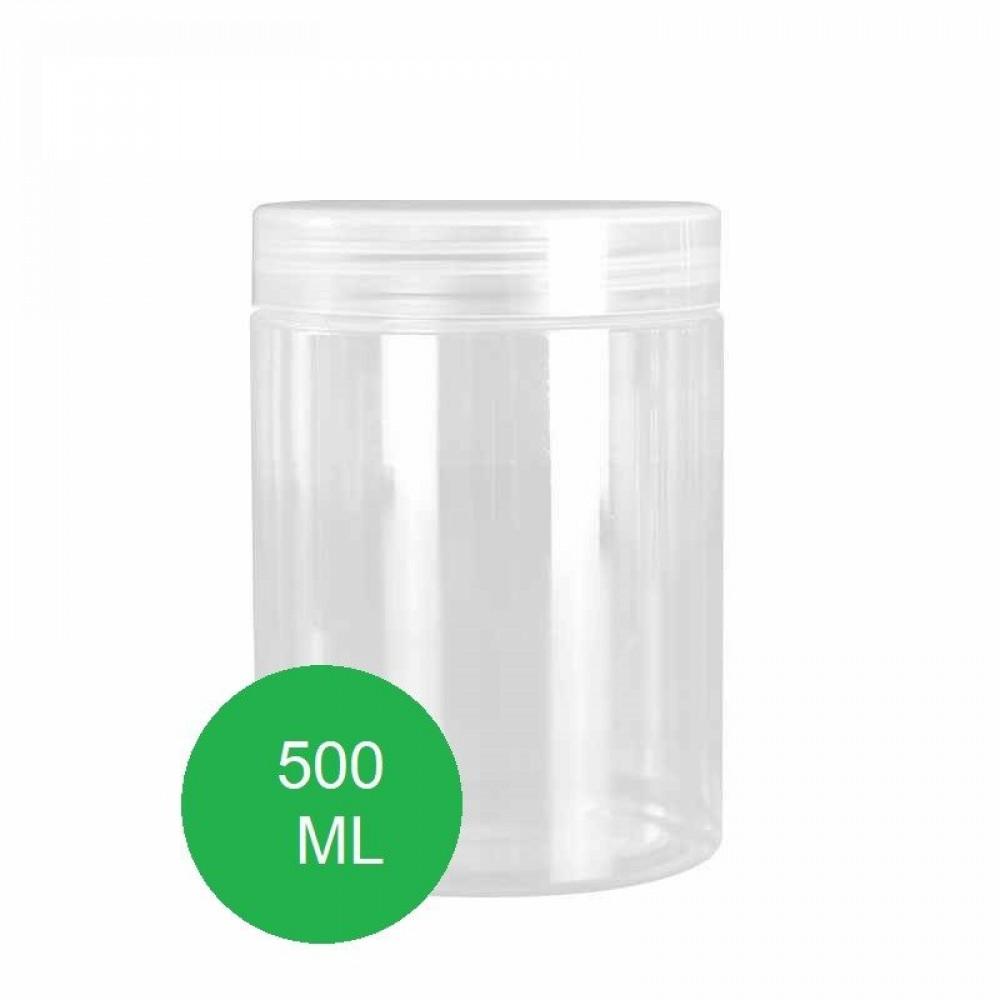 علب برطمان بلاستيك 500 مل