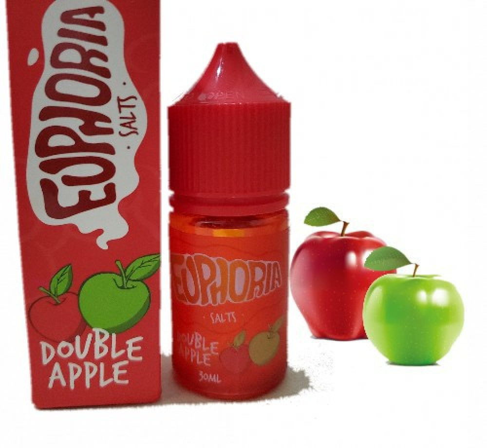 نكهة إفوريا تفاحتين - سولت -  EUPHORIA DOVBLE APPLE Salt