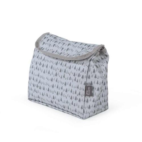 حقيبة يد بتصميم رسومات شجر باللون السماوي من ماركة دوها