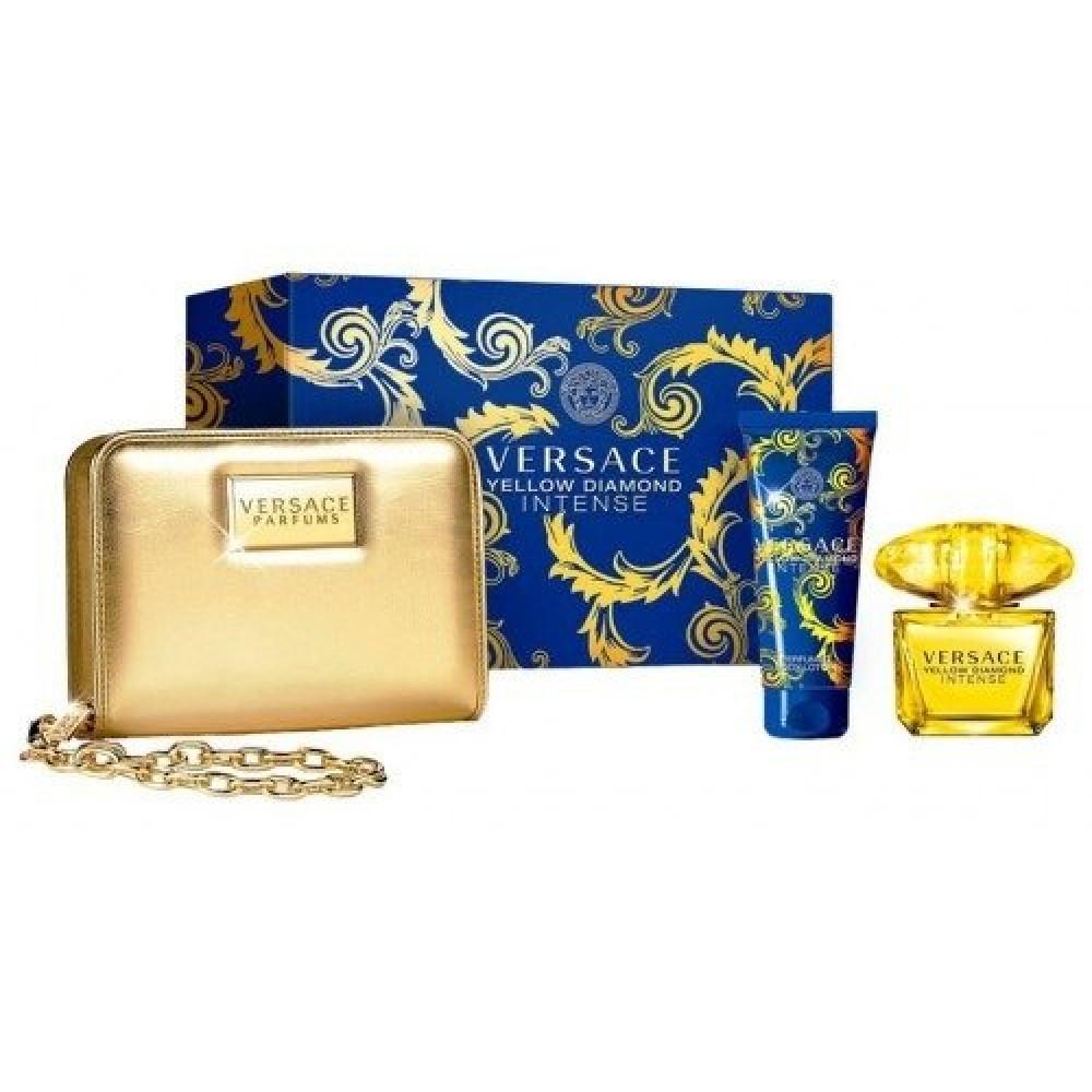 Versace Yellow Diamond Intense Eau de Parfum 90ml Gift Set خبير العطور