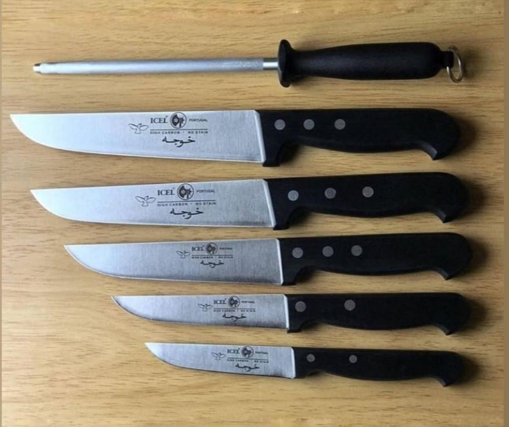 طقم سكاكين ICEL 6 قطع