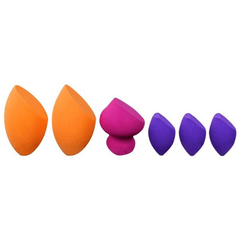مجموعة اسفنج ميركل من ريل تكنيك 6اسفنج