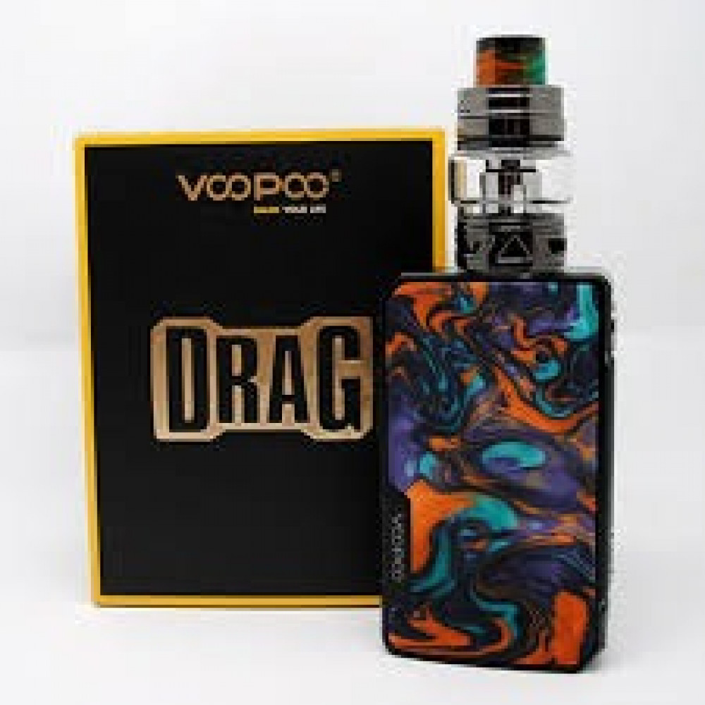 شيشه DRAG 2 KIT دراق 2 كت جهاز شيشه دخان الكتروني VAPE نكهة سيجاره