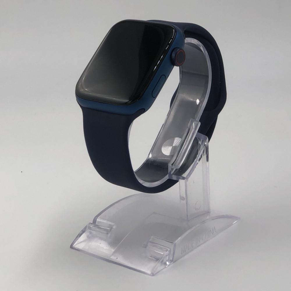 افضل ساعة شبيهة ابل-ساعة hw22-أزرق