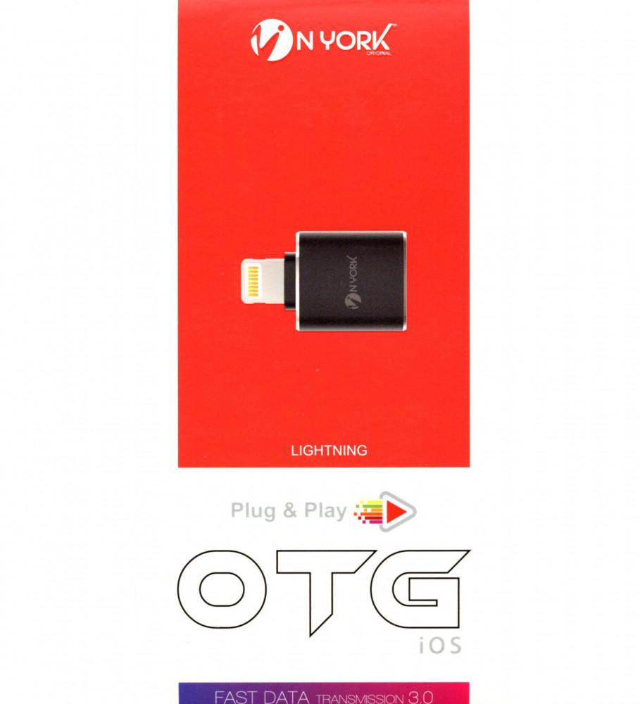 وصلة فلاش ميموري للايفون-OTG USB-NYORK