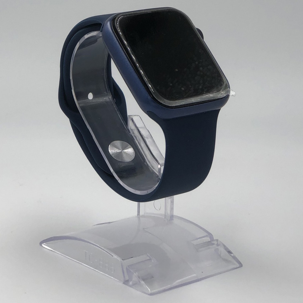 ساعات شبيهة ابل الجيل السادس-SmartWatch-أزرق