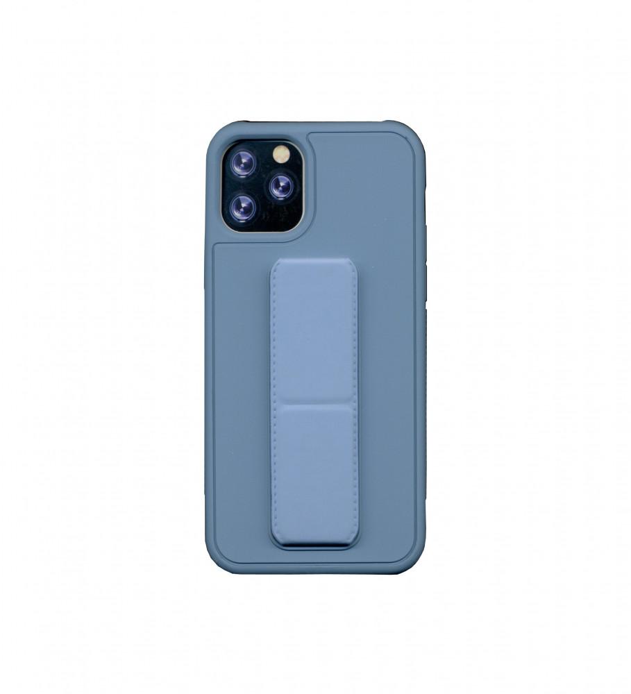 جراب ايفون 11 برو-مسكة جوال ايفون-أزرق