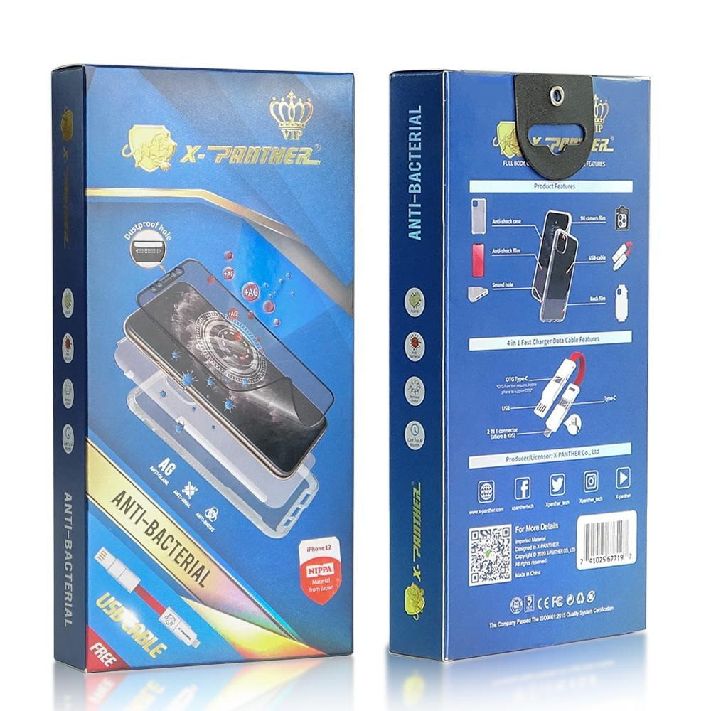 XPANTHERVIP PACKAGE 6 in 1 is a flexible hybrid glass