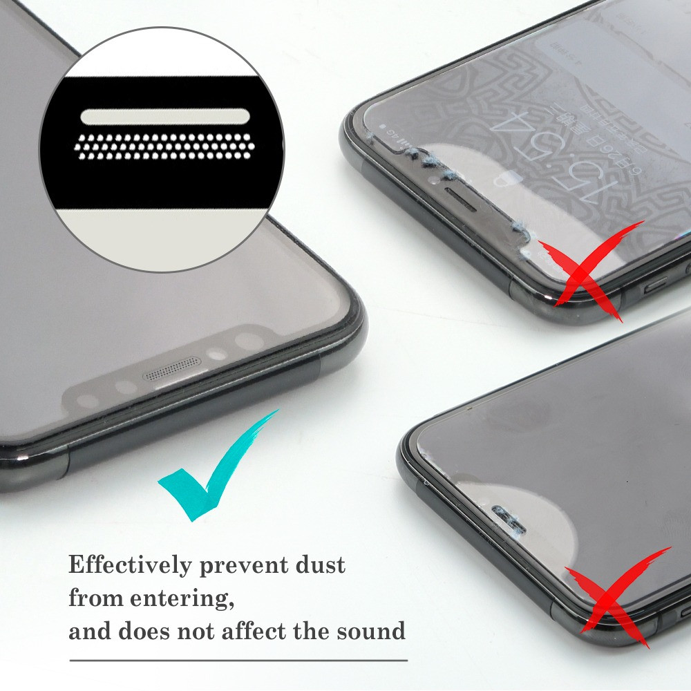 Prevent dust filter built in the front screen protector from XPANTHER