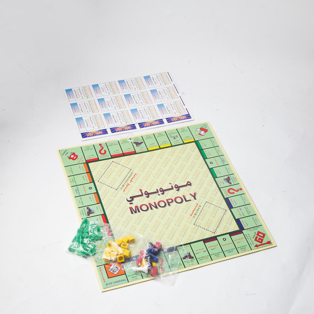 منوبولي - الأصلي اللعاب جماعيه لعبة مونوبولي لعبة المونوبولي للبيع