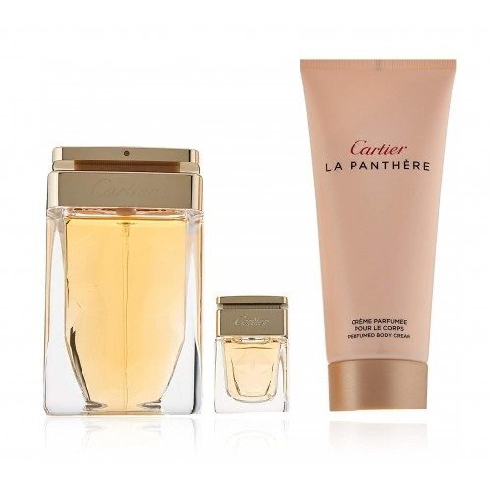 Cartier La Panthere Eau de Parfum 75ml 3 Gift Set متجر خبير العطور