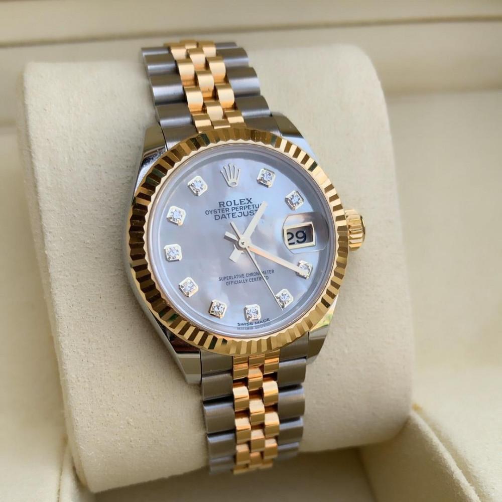 ساعة رولكس ديت جست الأصلية الثمينة مستخدمة 279173