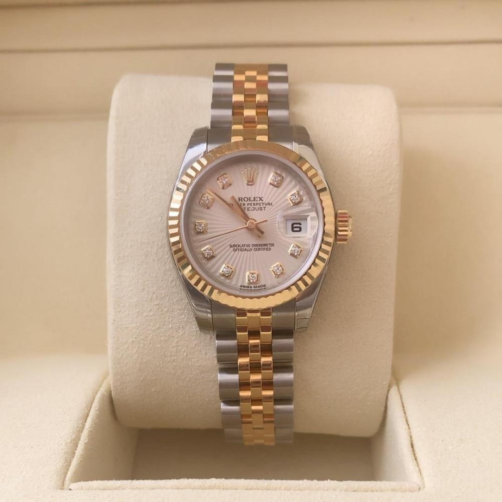 ساعة رولكس Rolex ديت جست الأصلية الثمينة جديدة تماما