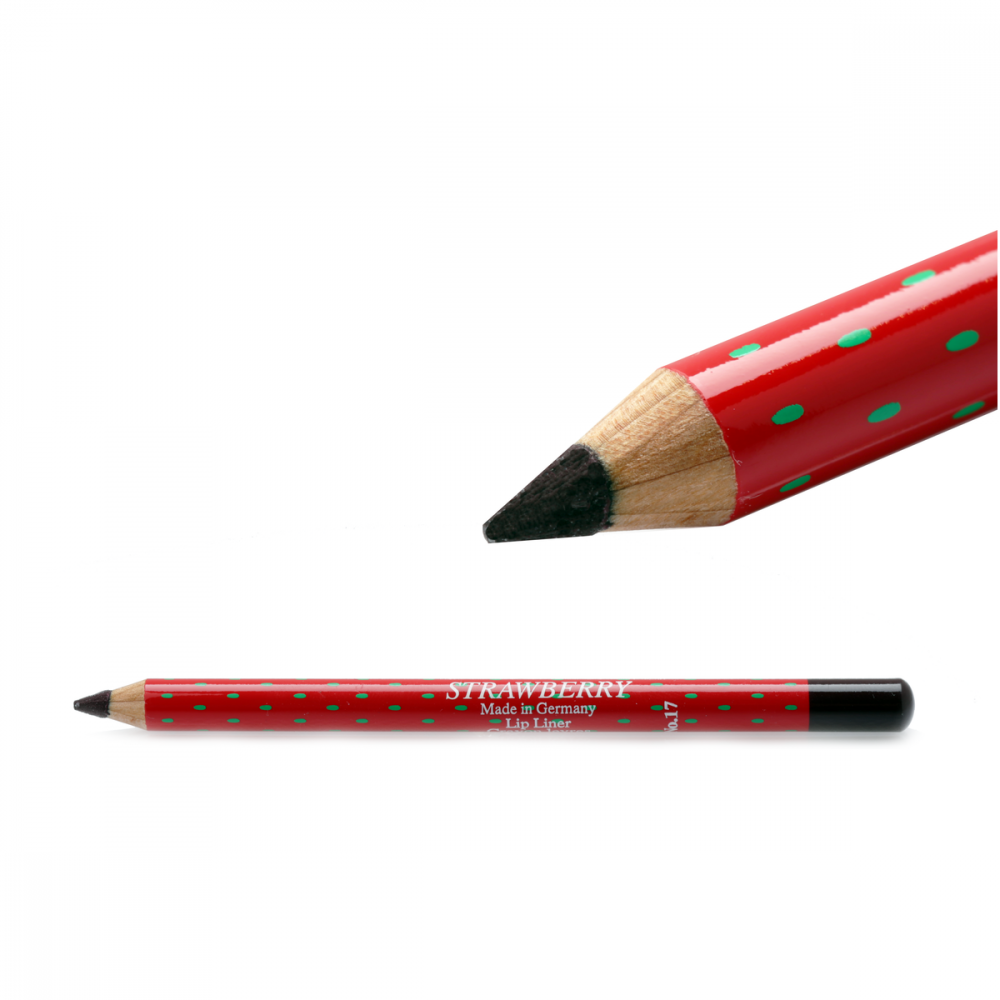 Strawberry  Lip Liner Pencil No-17