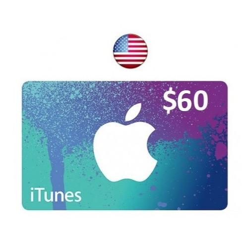 ايتونز امريكي 60 دولار