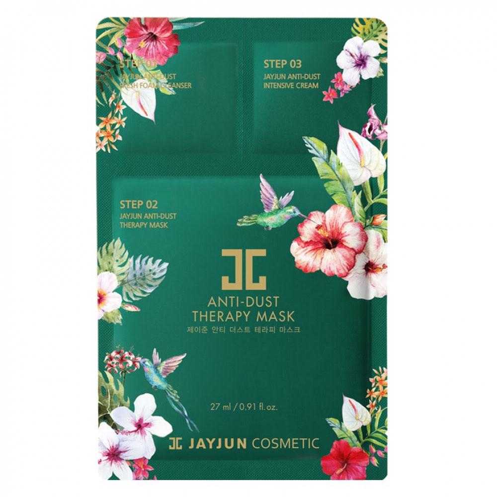 Anti-Dust Therapy Mask  ماسك جايجون منعش ومضاد للتلوث 10 حبات jayjun