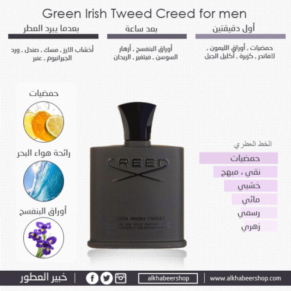 Creed Green Irish Tweed Eau de Parfum 50ml خبير العطور