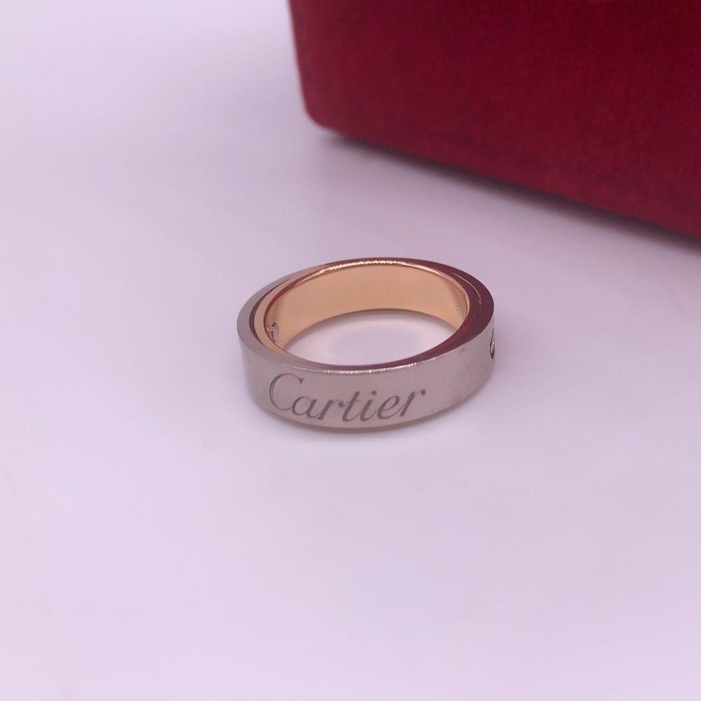 خاتم كارتييه دابل لوف الأصلي
