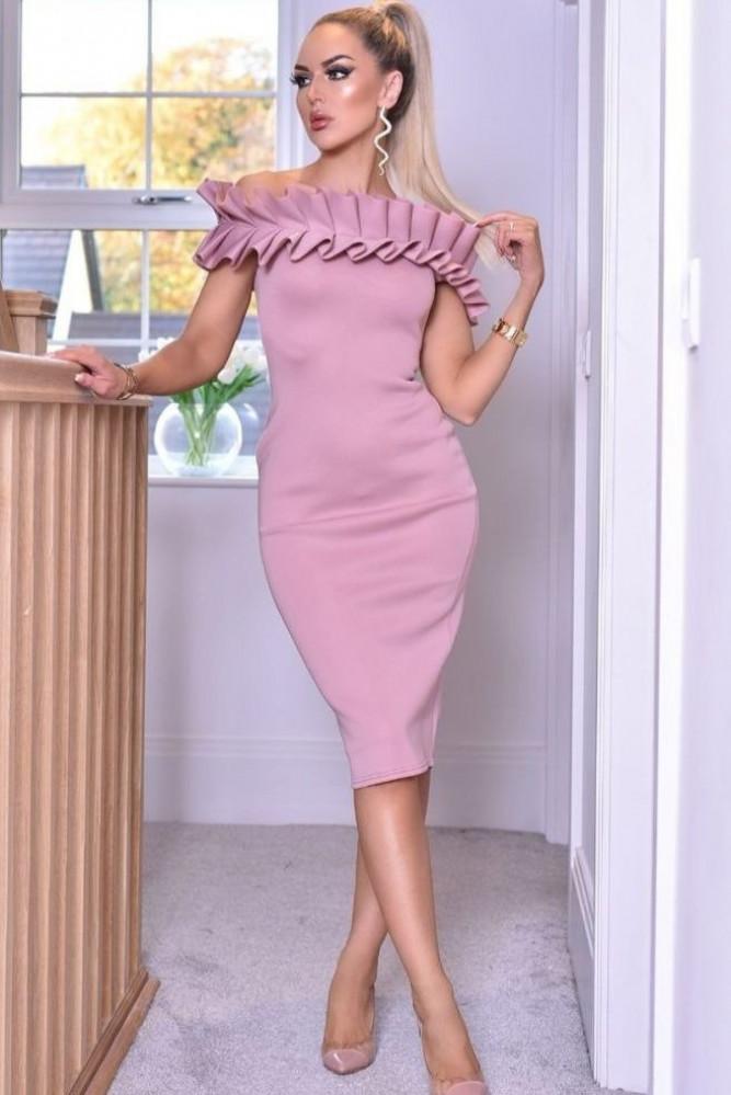 فستان موف قصير