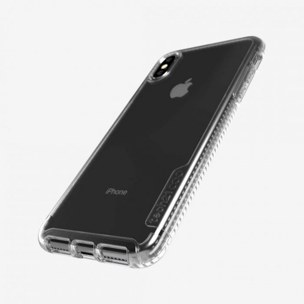 tech21- Pure Clear iPhone Xs Max - كفر حمايه