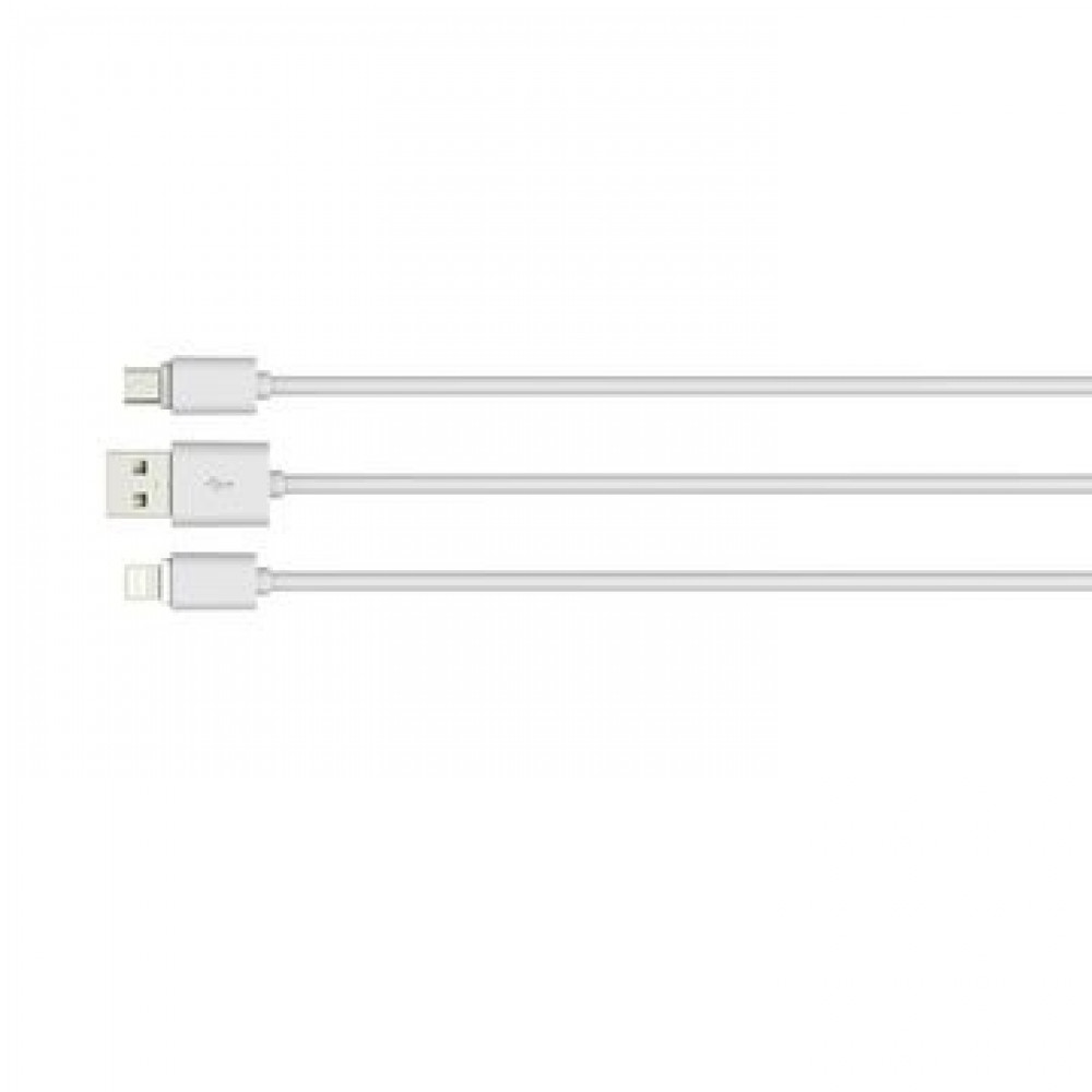 LDNIO Micro USB Charging -Data Cable 2-1A -WHITE